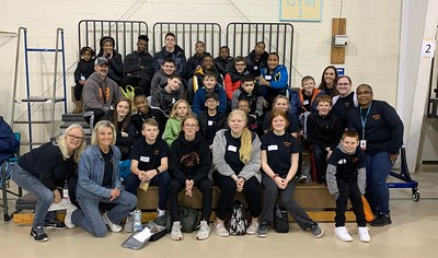 Special olympics basketball - middle school