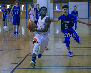 Boys Frosh Basketball vs South Lakes 2/12/16