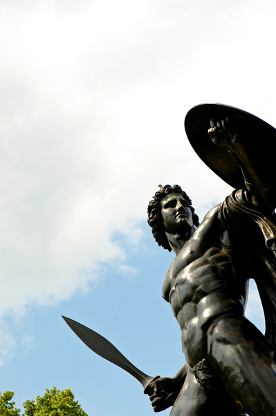 Hercules Statue, Hyde Park, W1, London, United Kingdom