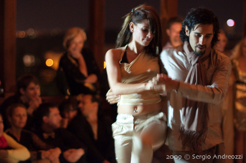 Gold Milonga: Ismael and Maria