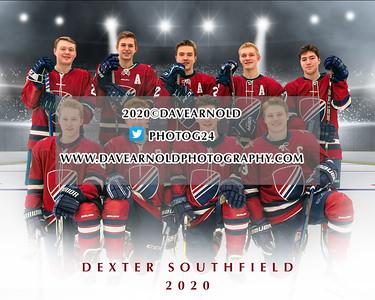 2/23/2020 - Boys Varsity Hockey - Dexter Seniors