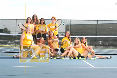 Tomah girls' tennis seniors GT19