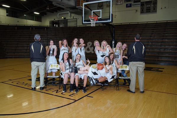 BHS Girls Basketball 2014-2015