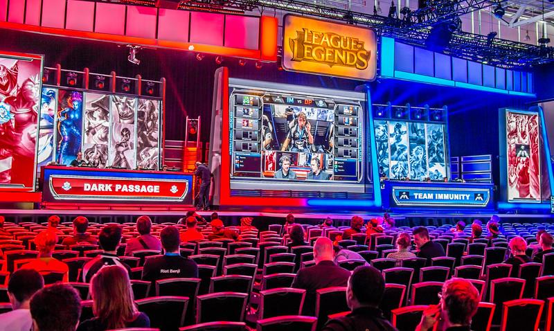 League of Legends booth at Gamescom 2013