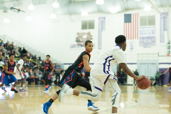 JV Boys Basketball vs. Garfield