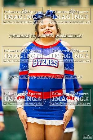 Byrnes Varsity Cheerleadin-Silverfox Invitational