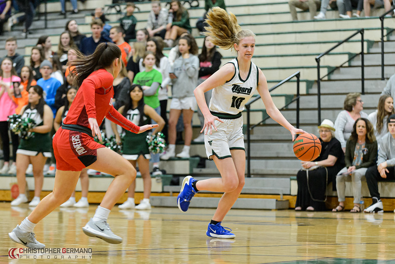 THS Girls Varsity Basketball vs Oregon City
