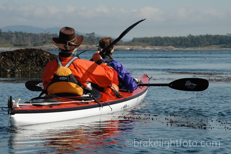 Kayakers near Discovery Island