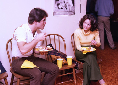 Tony and Laura After Rehearsal Dinner 1978