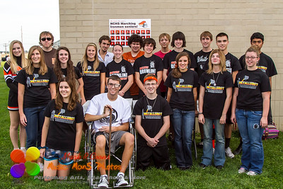 Marching Ironman Seniors Tailgate 2012