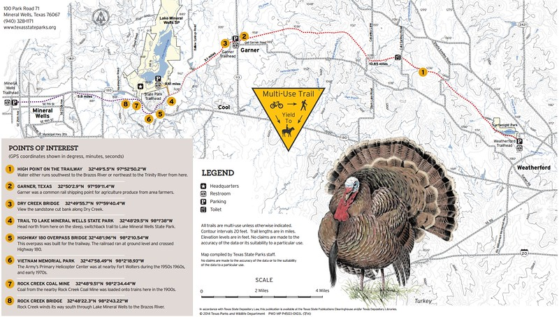 Lake Mineral Wells State Park & Trailway (Trailway)