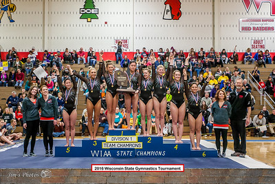 HS Sports - Gymnastics State Tournament - Mar 04, 2016