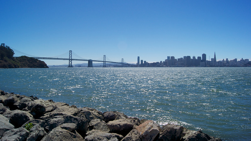 San Francisco as seen from Treasure Island