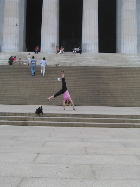 Heather Fry - Lincoln Memorial, Washington, D.C.