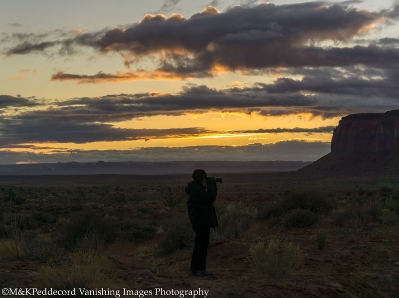 Monument Valley Before Dawn