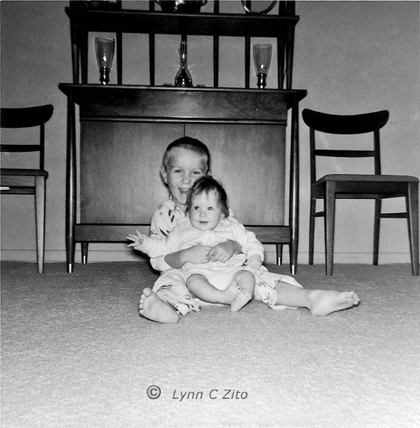 DANA & LYNN JANUARY 1958