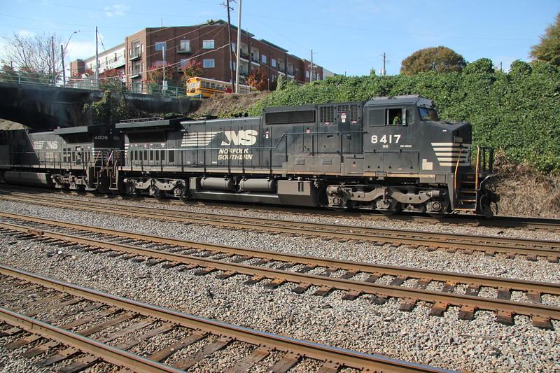NS 210-06 Jacksonville/FEC-Atlanta.  Run thru from Miami/FEC #210 NS8417 NS4009  NS Spring Atlanta, GA