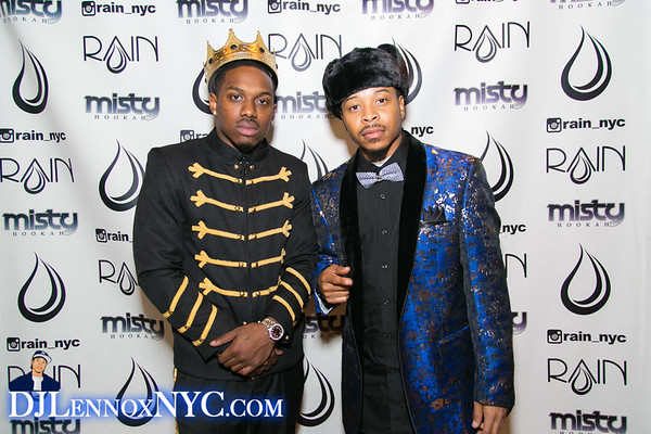 DJ Lennox-12th Annual birthday bash at club RAIN (12.23.16)