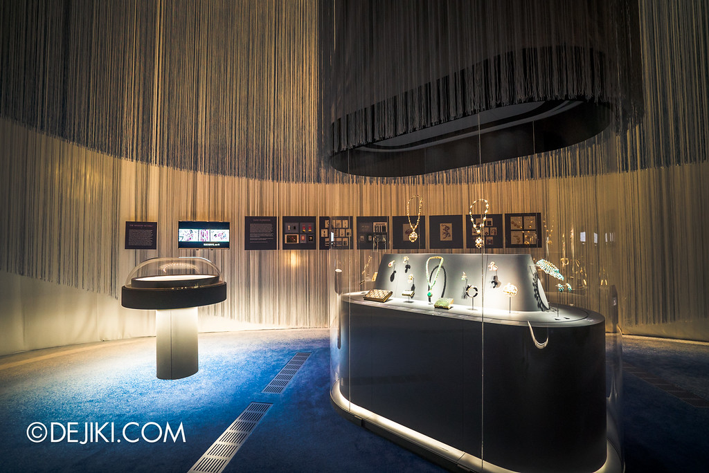Van Cleef & Arpels: The Art and Science of Gems / mystery setting room