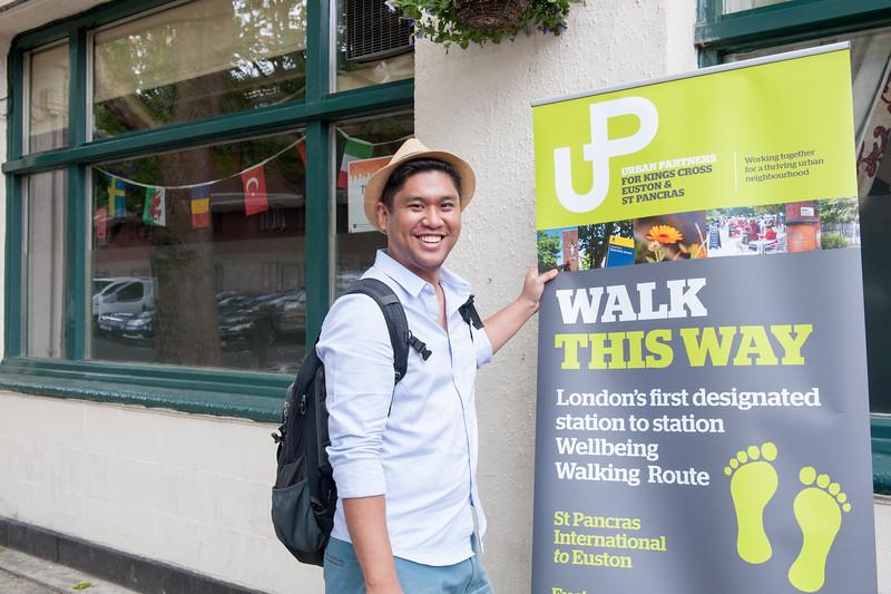 Wellbeing Walk Anniversary