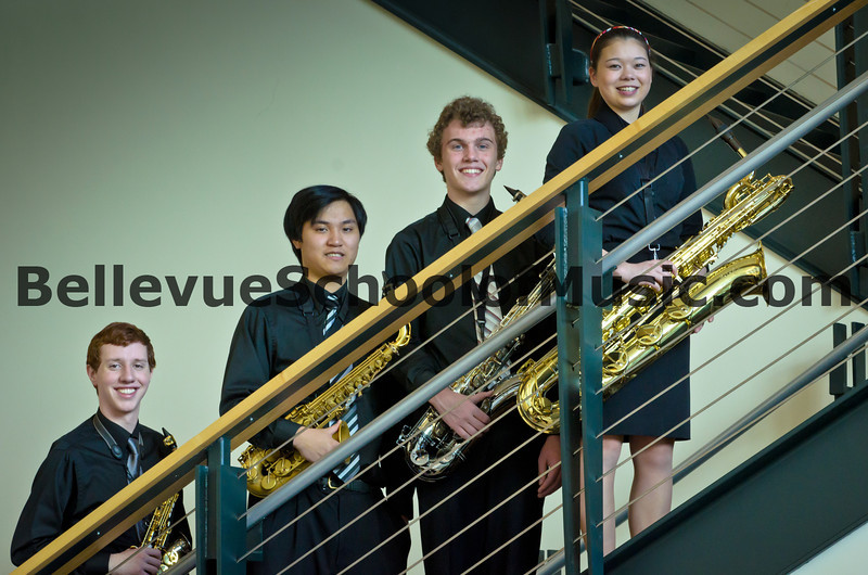 1st Place Winners Interlake High School Saxophone Quartet State Finals 2012