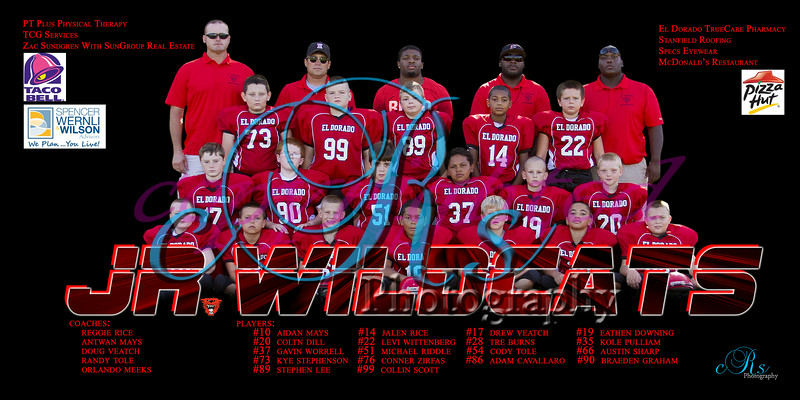 2014 Jr. Wildcat Football