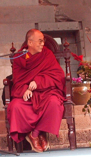 The Dalai Lama in Peru