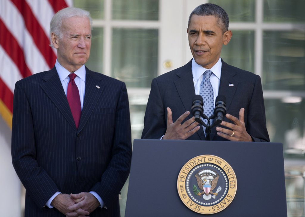". <p><b> President Obama last week announced, with much fanfare, that 7.1 million Americans � </b> <p> A. Signed up for Obamacare  <p> B. Beat him in their NCAA brackets <p> C. Still had jobs <p><b><a href=\'https://www.ijreview.com/2014/04/125906-krauthammer-7-1-million-phony-number/\' target=""_blank\"">HUH?</a></b> <p>   (AP Photo/Carolyn Kaster)"