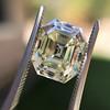 4.71ct Antique Asscher Cut Diamond GIA WX VS2 21