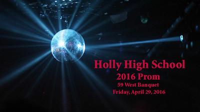 Holly High School 2016 Prom