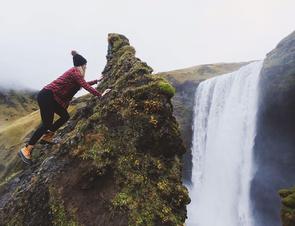 Waterfall Climbing