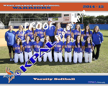 2015 Softball Team Pictures