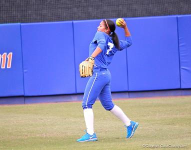 Florida softball scrimmage 2.5.13