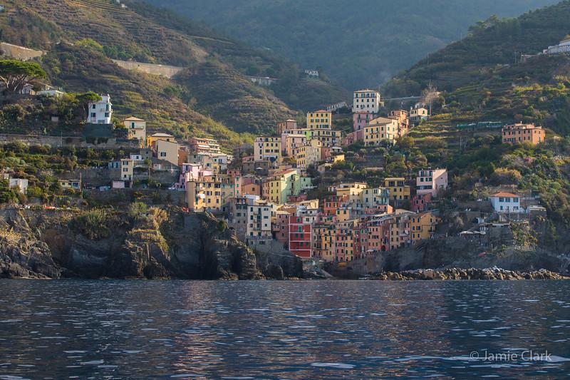 Ferry Ride - Cinque Terre, Italy -  October 2017