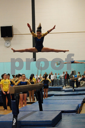 Ithaca College Gymnastics v. SUNY Brockport 1 10 09