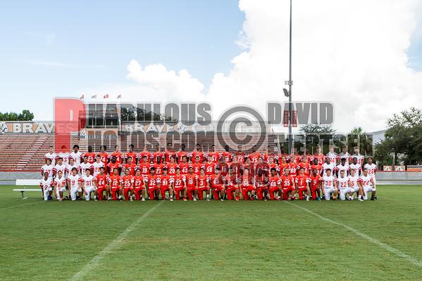 Boone Varsity Football #45 - 2016