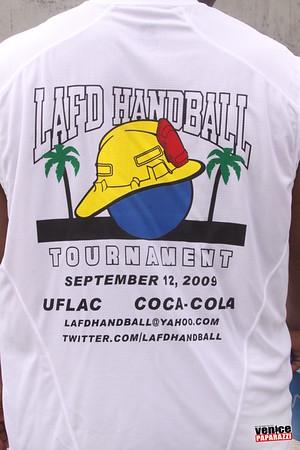 Los Angeles Fire Department 3-Wall Handball Tournament at Venice Beach
