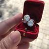 5.15ctw Old European Cut Diamond Toi et Moi Ring 14
