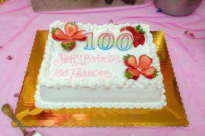 Frances 100'th Birthday