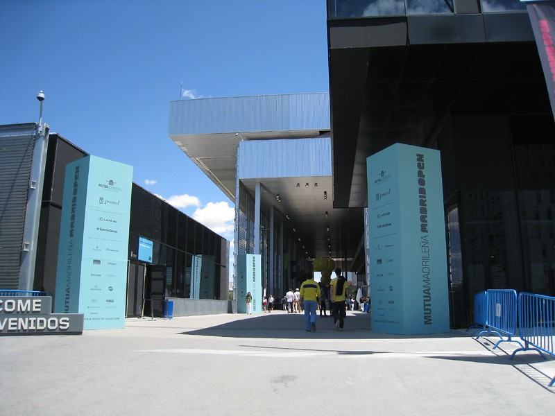 Madrid Open Front Gate