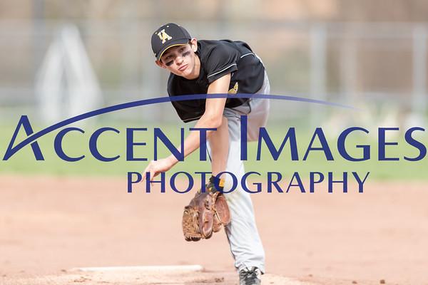 7th Grade Boys Baseball vs. Jones MS - 4/12/19