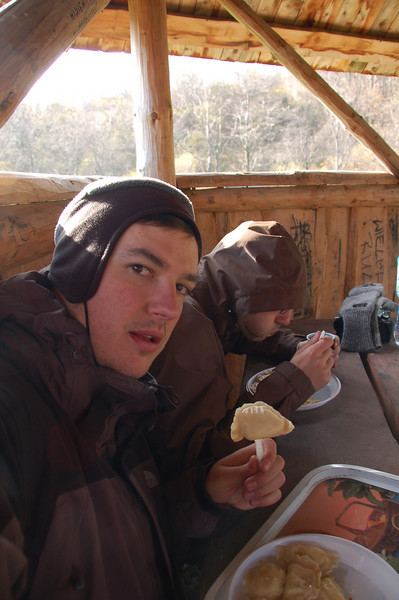 Y.U.M.M.Y. Food tastes so good when you are hungry and in the mountains