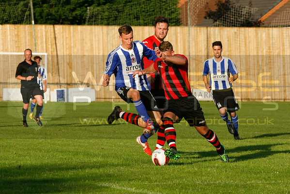 v Dronfield Town 15 - 07 - 14