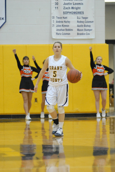Grant County HS Girls Basketball 2009-10