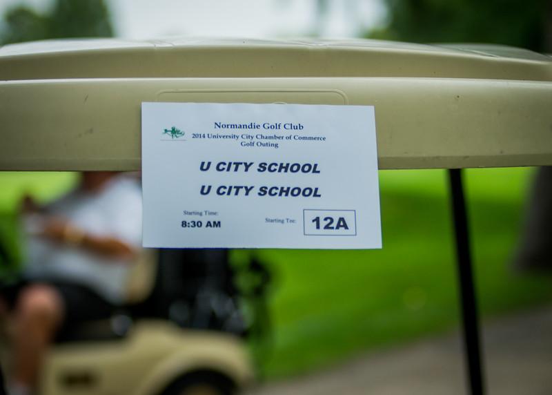 U City Chamber Golf - 2014