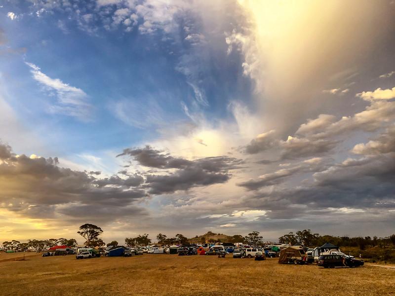 Blazing Swan 2017-Campsite #1