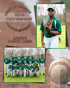 11-12 yr old Baseball