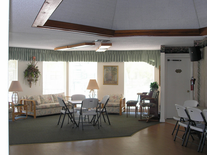 Inside Community Room
