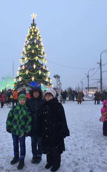 2016-01-09 Москва - Ледяной город