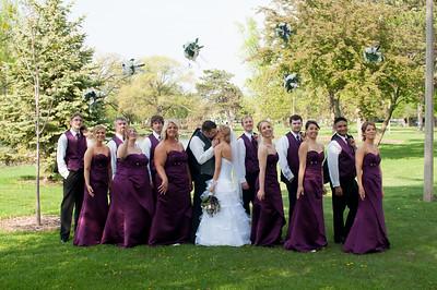 Erin and Nathan Wedding